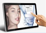 70inch que hace publicidad del quiosco montado en la pared del monitor de la pantalla táctil del indicador digital del panel del LCD