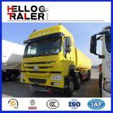 6 x 4 caminhão de petroleiro de alumínio do combustível de 25cbm 20t para o transporte do petróleo