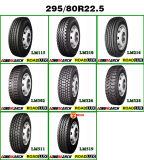 Dirigir pesos em linha do pneumático do caminhão pesado dos pneus 295/80r22.5 do pneumático chinês da compra