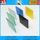 vidro laminado colorido 3/4/5/6mm+0.38 de PVB+3/4/5/6mm com as/Nzs2208: 1996