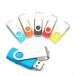 Memoria istantanea rotativa del USB Driveflash del metallo