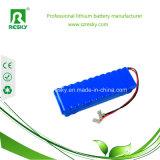 Bloco 11.1V 2600mAh 18650 da bateria de lítio para luzes do diodo emissor de luz