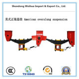 American Type Overslung Suspension for Semi-Trailer