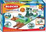 Juguete fijado trenes de los bloques con el mejor material