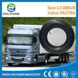 a câmara de ar interna do pneu butílico do caminhão 12.00r20 dá forma diretamente à fábrica
