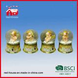 Bal van de Sneeuw van het Glas van de Bal van het Water van de Giften van de Verjaardag van de vakantie de Binnen Decoratieve
