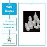 Modelagem por injeção plástica cosmética personalizada do frasco do recipiente líquido plástico do frasco da medicina dos produtos