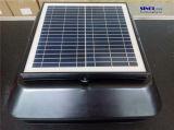 20W Inclinación del panel solar montado en el techo solar Ventilador multiusos