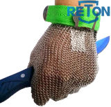Guante Carnicero Chain Mail Anti-Cut Guante / acero inoxidable Guante / seguridad del metal
