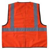 Het hoge Vest van de Veiligheid van de Slijtage van het Werk van het Zicht Weerspiegelende