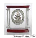 Horloge de bureau en bois de seule de Tableau pendule de bureau