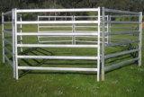 Скотины ограждают, загородка овец, сваренная труба утюга