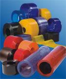 Lichtdurchlässiger PVC-Trennvorhang