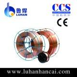 Revestido de cobre do fio de soldadura Er70s-6 do MIG de melhor preço