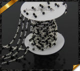 Necklace all'ingrosso Rosary Chain con Glass Rondelle Beads (JD006)