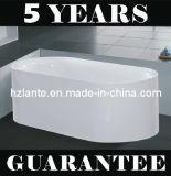 Bañera simple de acrílico de la instalación en interiores (LT-JF-7055)