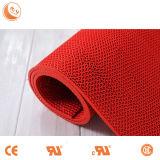 Uso Comercial color de la malla de PVC Mat rollo de PVC antideslizante Mat S en Rolls con Pila de nylon