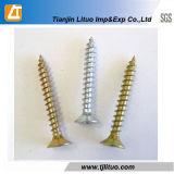 DIN7505 escolhem/zinco principal dobro mobílias chapeados para os parafusos de madeira do cartão