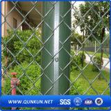 電流を通されたPVC上塗を施してあるドアチェーンリンク網の塀のWithgの工場価格