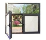 Het Openslaand raam van het Profiel van het aluminium met Blind tussen Dubbel Glas K03031