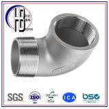Form-Rohrfitting-Verbindungsstück konisches M/F des Edelstahl-ANSI16.3 304/316
