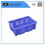 Caisse en plastique empilable réversible de la rotation 280# pour des systèmes, marché, usine, entrepôt