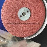 Disco de la fibra para el metal y la madera
