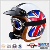 Klassischer geöffneter Gesicht Harley Motorrad-/Motorrad-/Roller-Sturzhelm (OP216)
