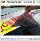 Película auta-adhesivo del vinilo de la visión unidireccional para la impresión al aire libre de Digitaces