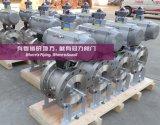 Fabricante dividido en segmentos de calefacción de la vávula de bola, Pn16, Class150