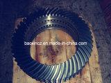 Le Tableau rotatoire de broyeur a modifié le pignon conique spiralé