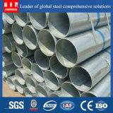 Tubo de acero galvanizado sumergido caliente - Q235 Ss400
