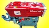 Agua y motor diesel refrescado viento con buena calidad del motor