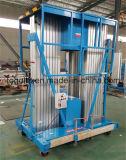 Plataforma aérea de la elevación de la aleación de aluminio