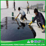 Rivestimento impermeabile del poliuretano componente singolo o doppio a base d'acqua del tetto