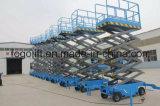 Plataforma hidráulica eléctrica 10m móvil Ascensor