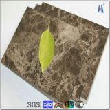 Folhas do revestimento da parede exterior do alumínio do preço de fábrica