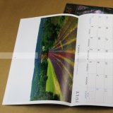 Impression de calendrier de bureau de calendrier mural