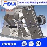 Inchiesta calda Dirigere-Guidata della macchina di granigliatura della rotella di turbina