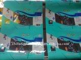 Matériaux d'emballage en plastique de Pet/PE pour la nourriture avec la gravure Pring