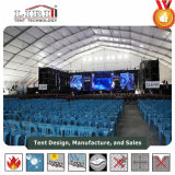 Grande barraca do concerto de Sturcture da extensão do espaço livre do polígono para o concerto de Muscial