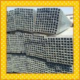 Tubo de acero de galvanización en tubo/tubo de acero cuadrados