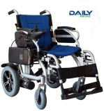 Кресло-коляска Powe рамки Al Ce легкая складывая электрическая с батареей лития и Suspenstion