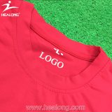 Healong Atacado Custom Any Logo Color Sublimation Shirts Design T-Shirt