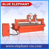 Máquina do CNC da linha central da cabeça 4 de Ele 2425 multi