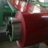 De eerste Rol van het Staal van het Blad van het Dak van de Kwaliteit Materiaal Vooraf geverfte