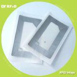 Embutimento RFID Prelam do RF com microplaqueta e antena