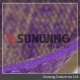 Esteira de borracha roxa por atacado da ioga do TPE de linho de Sunwing