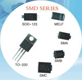 Cas Sm5817 de Melf de diode de barrière de Schottky