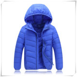 Дети черная серая вниз куртка, одежды зимы на дети 601 мальчика